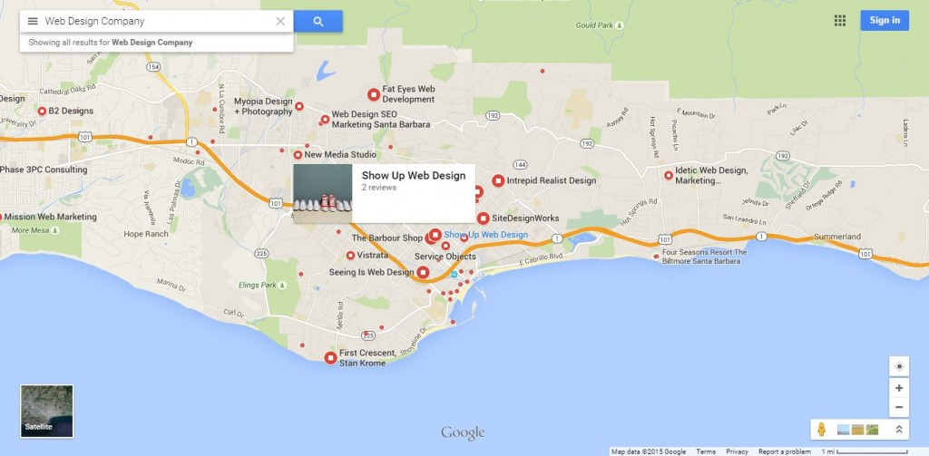 business on google maps 2