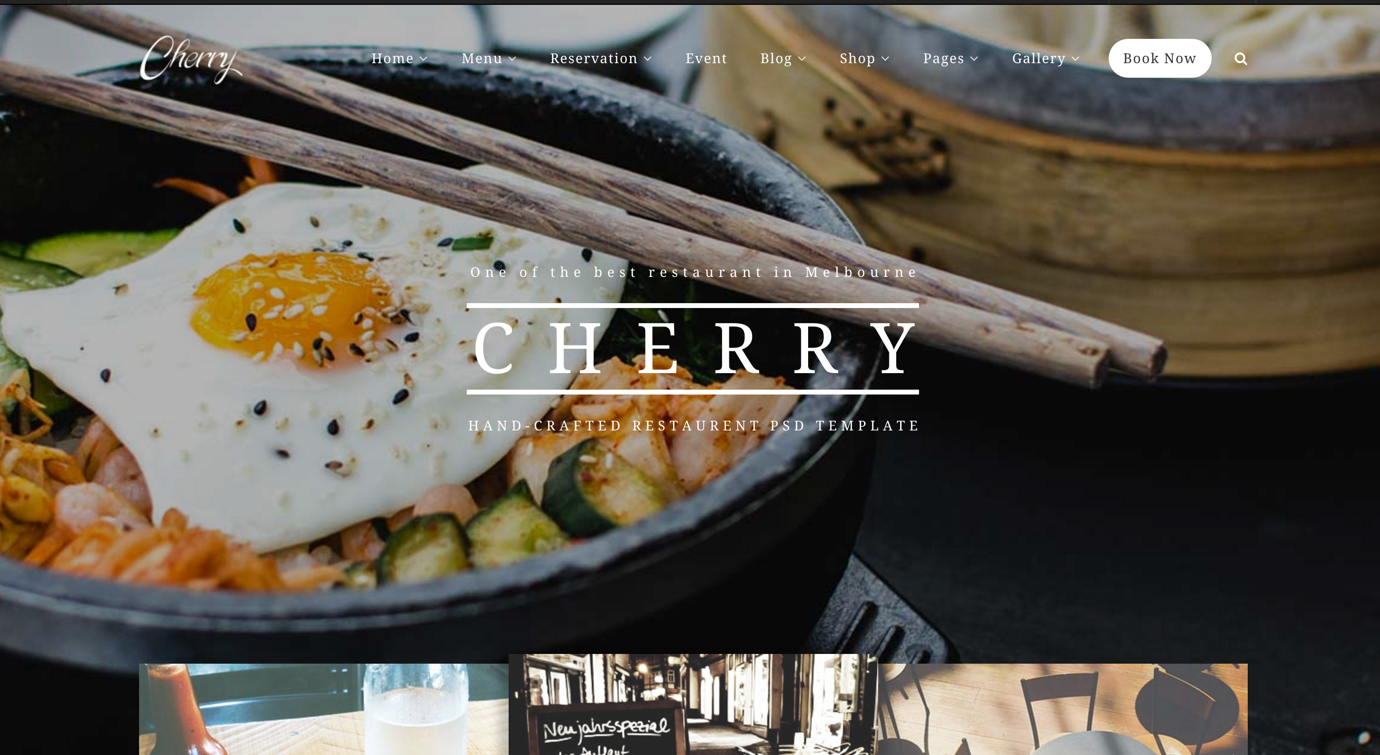 cherry wordpress theme