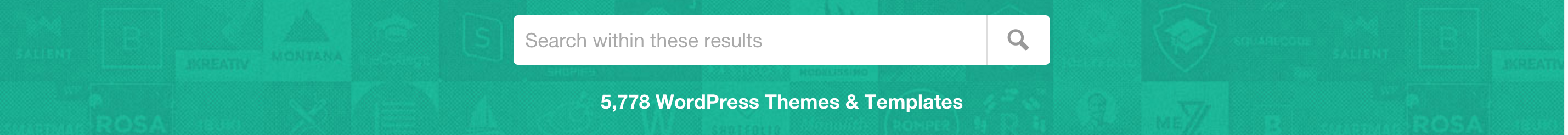 Wordpress Theme Search