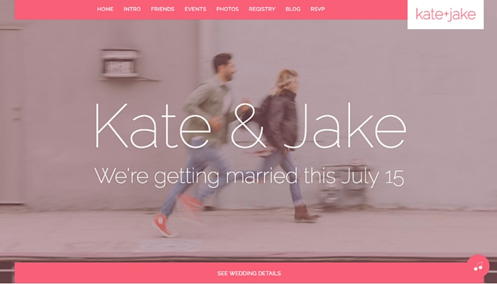 Katie + Jake Wedding Theme